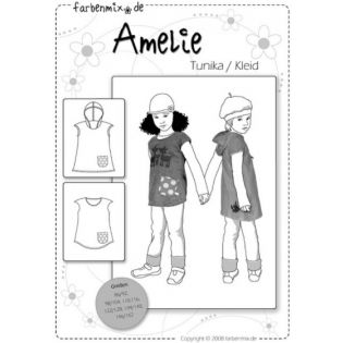 Schnittmuster - Farbenmix - Tunika / Kleid - Amelie