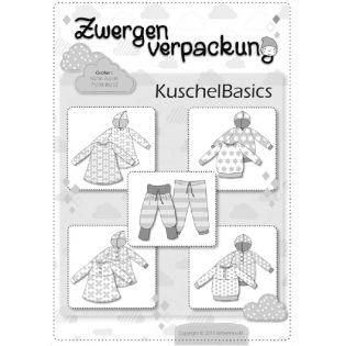 Schnittmuster - Farbenmix - Zwergenverpackung - KuschelBasics