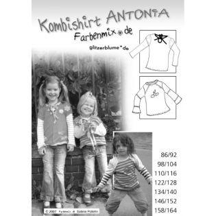 Schnittmuster - Shirt - Antonia