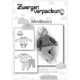 Schnittmuster - Farbenmix - Zwergenverpackung - MiniBasics