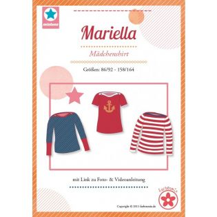Schnittmuster - Shirt - Mariella