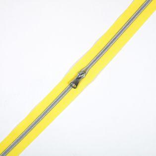 Spiralreißverschluss - S80 - Meterware - mit Zipper - gelb