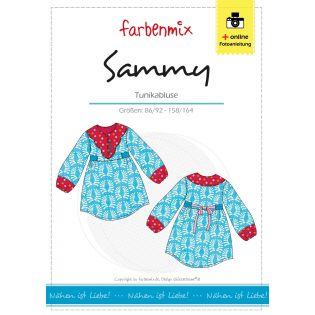 Schnittmuster - Sammy - Tunikabluse