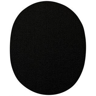 2x Aufbügelflecken - Jeans - schwarz - groß