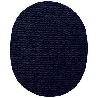 2x Aufbügelflecken - Jeans - navy - groß