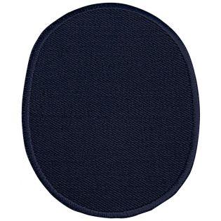 2x Aufbügelflecken - Jeans - umkettelt - navy