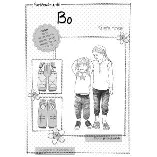 Schnittmuster - Stiefelhose - Bo