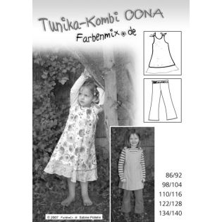 Schnittmuster - Tunika, Kleid, Hose - Oona