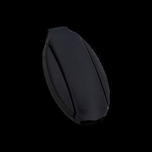 Kordelstopper - 25 mm - schwarz