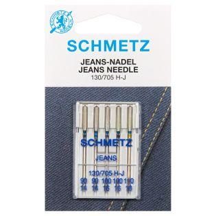 Schmetz - 5 Jeansnadeln - 130-705 H-J - Stärke 90/110