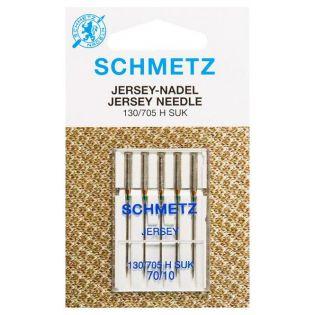 Schmetz - 5 Jersey-Nadel - 130/705H - SUK - 70/10