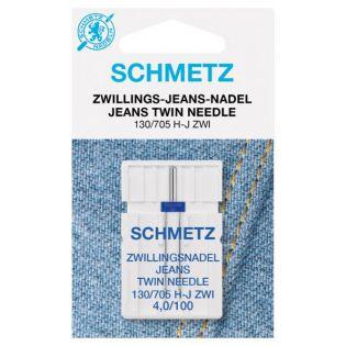 Schmetz - Zwillingsnadel - Jeans - 130-705 - 4,0/100