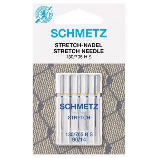 Schmetz - 5 Nähmaschinennadeln - 130/705 - Stretch - 90/14