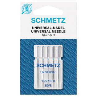 Schmetz - 5 Nähmaschinennadeln - 130/705 - Standard - 60/8