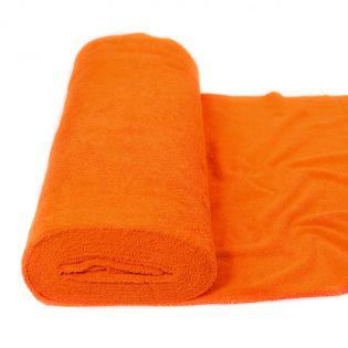 Frottee - uni - orange