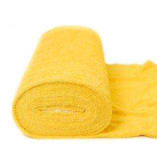 Frottee - uni - gelb