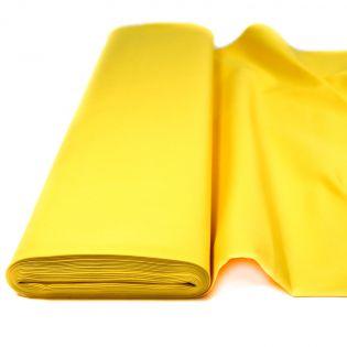 Baumwolle - Köper - uni - gelb