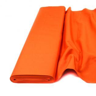 Baumwolle - Köper - uni - orange