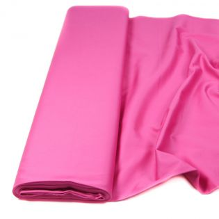 Baumwolle - Köper - uni - pink