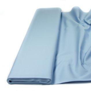 Baumwolle - Köper - uni - eisblau