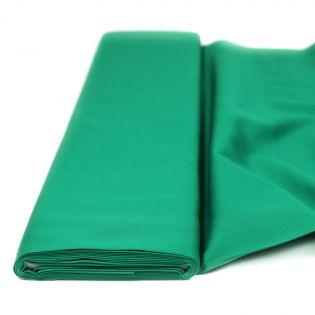 Baumwolle - Köper - uni - grasgrün