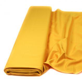 Baumwolle - Köper - uni - sonnengelb