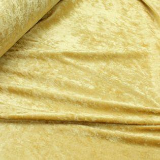 Pannesamt - uni - gold