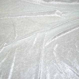 Pannesamt - uni - weiß