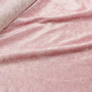 Pannesamt - uni - rosa