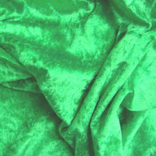 Pannesamt - uni - grün