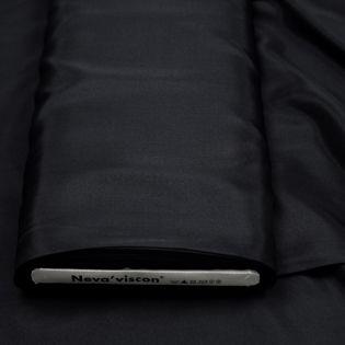 Futterstoff - Neva-Viscon - schwarz