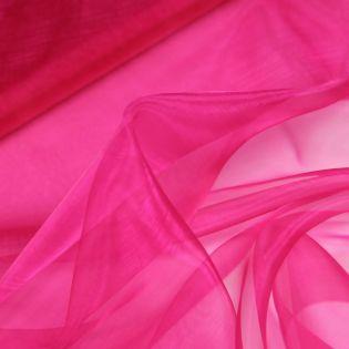 Organza - uni - pink