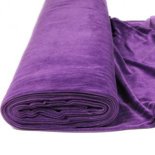 Baumwollnicki - uni - violett