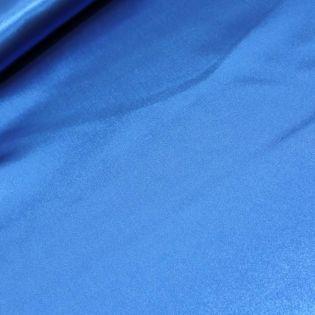Satin - uni - blau