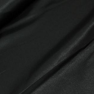 Satin - uni - schwarz