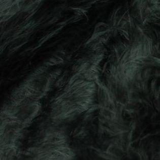 Zottelplüsch - uni - schwarz