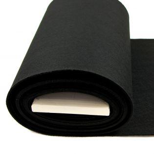 Bastelfilz - uni - schwarz