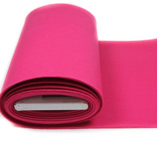 Bastelfilz - uni - pink