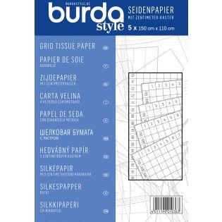 burda style - Seidenpapier mit cm-Raster