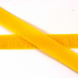 Klettband zum Nähen - 50 cm - sonnengelb