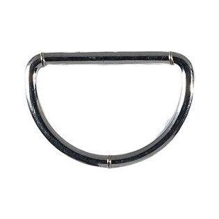 D-Ring - 25 mm - silber
