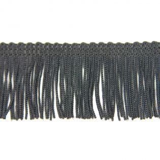 Fransenband - Viskose - 35 mm - schwarz