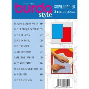 burda style - Kopierpapier - rot/blau