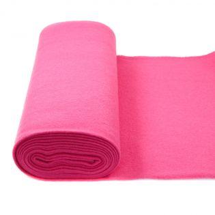 Walkloden schwer - uni - pink