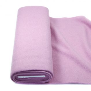 Walkloden - schwer - uni - rosa