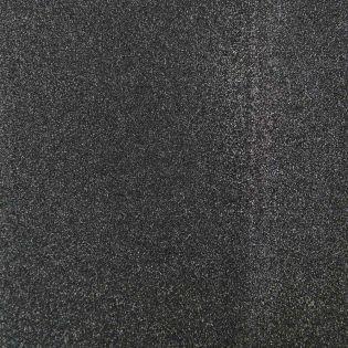 Bügelflicken - Glitter - schwarz