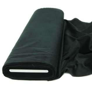 Feincord - Stretch - uni - schwarz