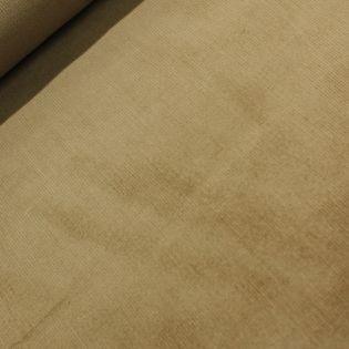 Feincord - Stretch - uni - beige