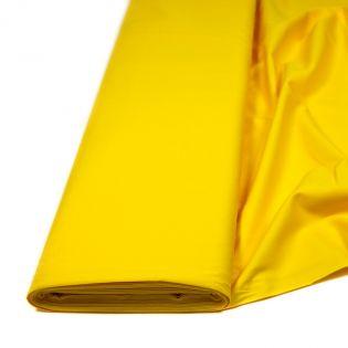 Popeline, 100% Baumwolle - uni - gelb