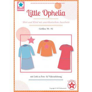 Schnittmuster - Little Ophelia - Mädchen-Shirt und Kleid